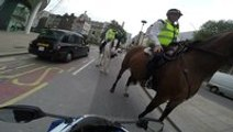 Cop On Horseback Pulls The Most British Traffic Stop Ever