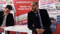 Richard Martel, coach des Brûleurs de Loups face aux lecteurs du Dauphiné Libéré - Grenoble