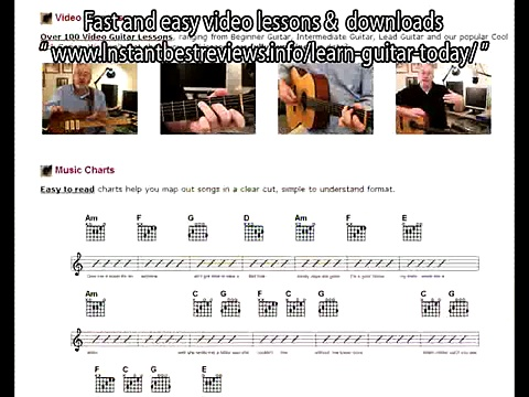how to learn guitar chords for free   Adult Guitar Lessons Fast and easy video lessons