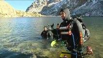 Une plongée dans le lac de Melo pour en préserver la biodiversité
