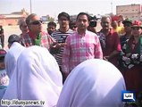 Dunya News - Karachi: PTI leads campaign to clean beaches in Clifton, DHA