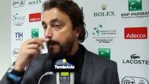 """Coupe Davis 2014 - Chronique Henri Leconte : """"La France a été trop timide"""""""
