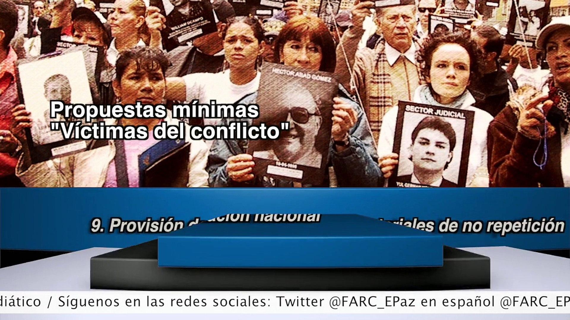 2014   septiembre  30,  Noticiero de las FARC-EP  Ciclo 29 - I - Pueblo Colombiano Pa la mesa