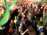 Govt will face 'political death' if it tried to stop PTI rally-Geo Reports-23 Nov 2014