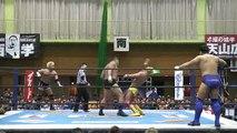 Yuji Nagata & Manabu Nakanishi vs. Togi Makabe & Tomoaki Honma (NJPW)
