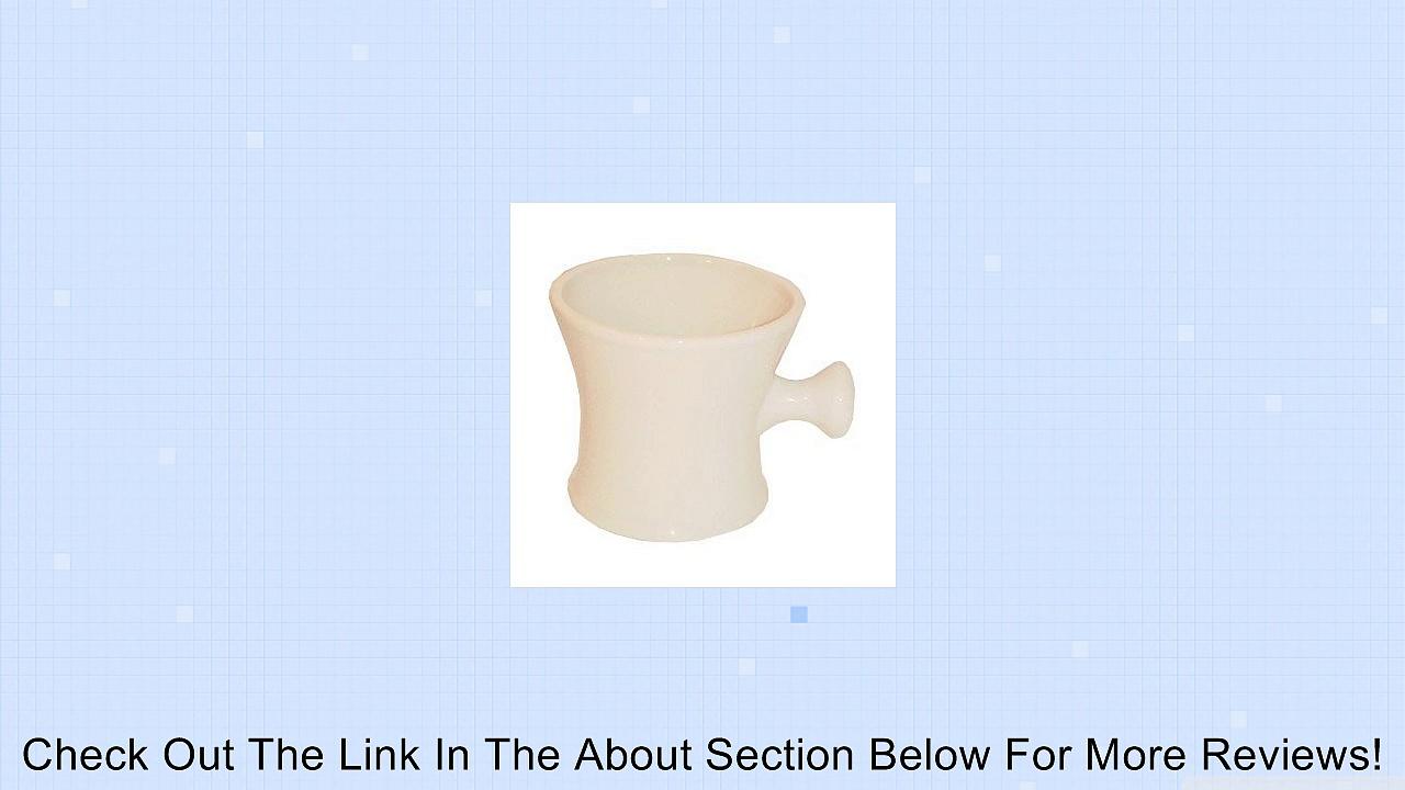 Ball Grip Handle Ceramic Shaving Mug * Color: Off White Review