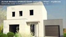 A vendre - EPERLECQUES (62910) - 4 pièces - 97m²
