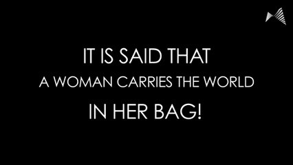 What Women Carry In Their Bags Will Leave Men Red-Faced!