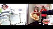 Nouveau défi de dingue : Lancer une pizza comme un frisbee dans un micro-ondes