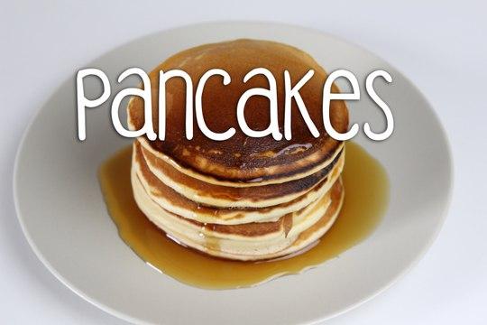 Recette des Pancakes americains   Amandine Cuisine