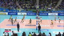 V-League Hyundai E&C vs. GS Caltex, KEPCO vs. Woori Card