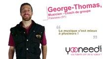 Cours de guitare et coaching de groupe de musique  à Palaiseau (91120 _Essonne) avec George-Thomas - Yooneed