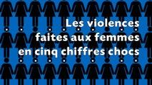 Les 5 chiffres clés des violences faites aux femmes