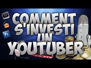 Comment s'investit un Youtuber sur Youtube ! v.2