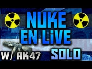 Nuke en LIVE w/ AK47 | OH P*TAIN LE NO SCOPE !!!!