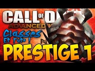 Advanced Warfare : Passage du Prestige 1 en Live ! | Classes pendant mon Premier Prestige