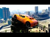 STUNTS IMPRESSIONNANTS et JOLIES FIGURES ! (GTA V Stunt Montage)
