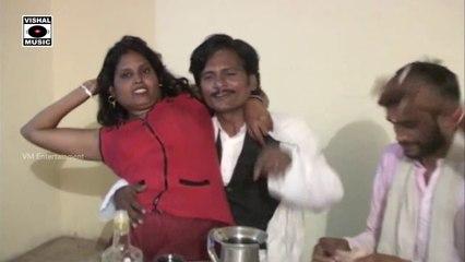 Aunty Enjoys with Drunk Guys - Choli Mein Goli - Bhojpuri Hot Video.