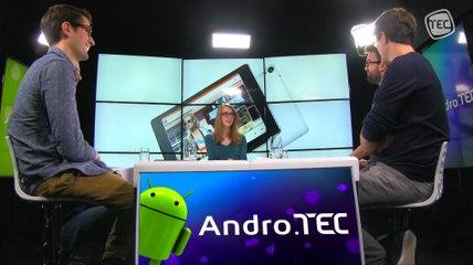 AndroTEC 031: Arrivé de Lollipop, de la finesse, le test de la Nexus 9 et nos cadeaux de Noël !