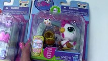 Littlest Pet Shop Sprinkle Maltese Puppy Dog LPS Chicken Rolleroos Friends Toy Review Cookieswirlc