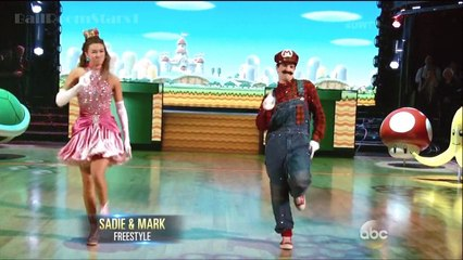 [HD] Sadie Robertson & Mark - Freestyle - DWTS 19 (Finals)
