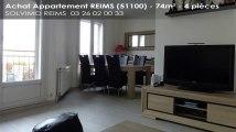 A vendre - appartement - REIMS (51100) - 4 pièces - 74m²