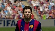 Il recrée les derniers buts de Lionel Messi sur FIFA15 !