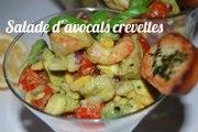 Recette Salade d'avocats aux crevettes | ToiMoi&Cuisine