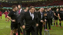 REACTION: All Blacks coach Steve Hansen on winning coach of the year award