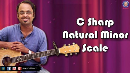 How To Play - C Sharp Natural Minor Scale - Guitar Lesson For Beginners