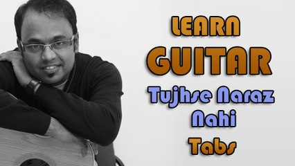 How To Play - Tujhse Naraz Nahi Zindagi - Guitar Tabs - Masoom - Lata Mangeshkar