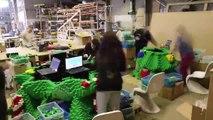 Le plus grand Sapin de Noel LEGO jamais construit! Sydney - Australie