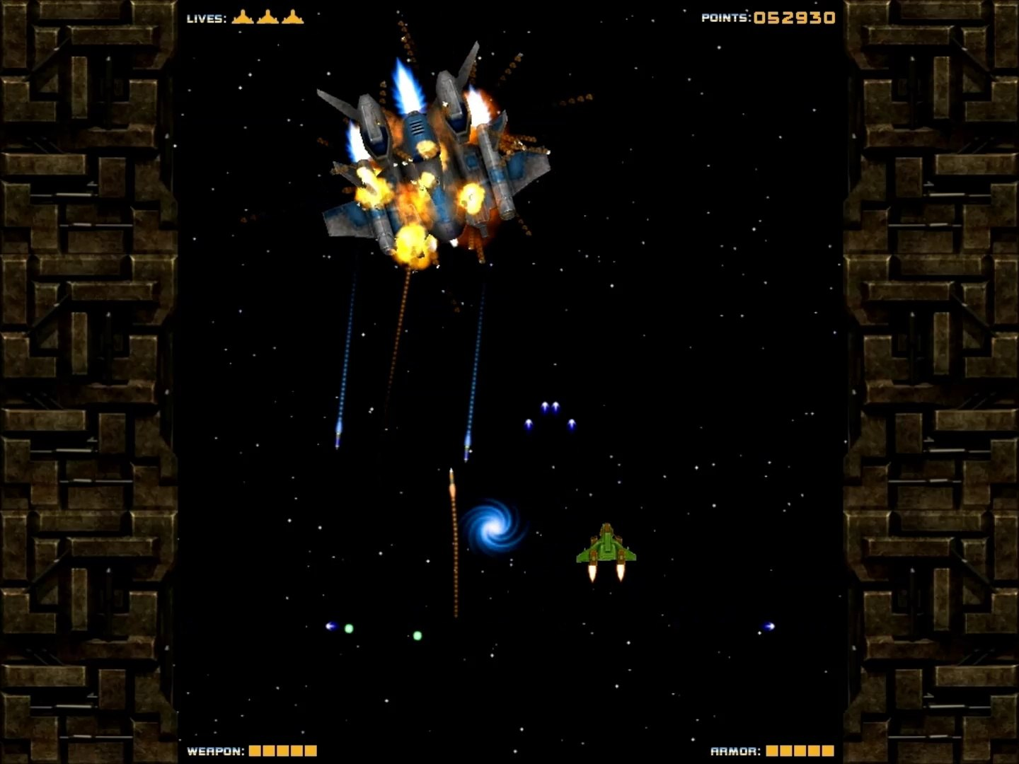 Last Space Fighter - free 3D space shooter PC game