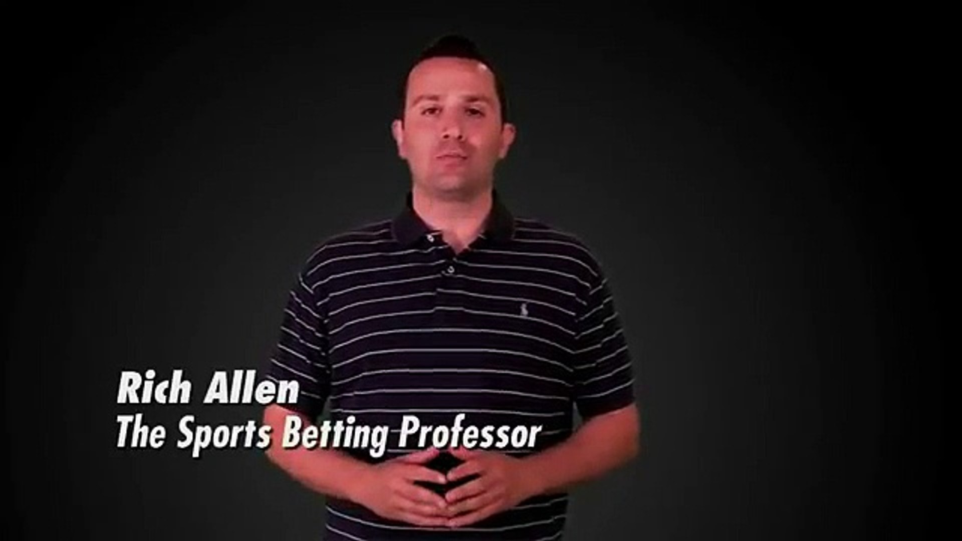 the sports betting professor