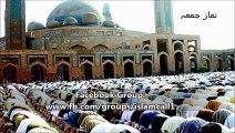 Namaz e Jummah lead by Maulana Tariq Jameel in Jamia Masjid (Grand Mosque) Bahria Town Lahore (31 October 2014)
