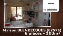 A vendre - maison - BLENDECQUES (62575) - 6 pièces - 100m²