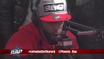 La Fouine _ Saha_ + freestyle d'Hooss en live dans Planète Rap !