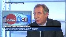 Francois Bayrou, invité de Guillaume Durand sur LCI-Radio Classique - 191114