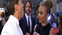 Angelique Boyer platica con Rodner  L. Grammy 2014