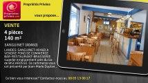 A vendre - bar/restaurant/brasserie - SANGUINET (40460) - 4 pièces - 140m²