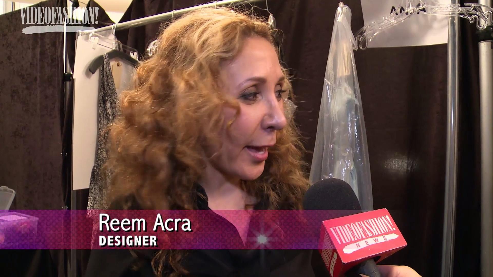 VF NEWS: Reem Acra Spring/Summer 2015 – NYFW