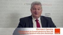 smcl 2014 : itw de B.Gendre (Vice-Président du CG du Gers (32) et R.Gabrielli (Directeur du Syndicat mixte Gers Numérique)