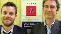 Interview de Frédéric Mourier et Nicolas James Eco Cinetic pour le Club ADEME International - Salon de la Croissance Verte 2014