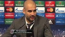 """FOOTBALL: UEFA Champions League: Guardiola: """"Wir haben scheiße gespielt"""""""