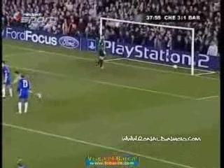 Le pointard de Ronaldinho