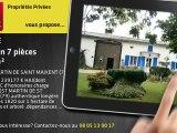 A vendre - maison - SAINT MARTIN DE SAINT MAIXENT (79400) - 7 pièces - 150m²