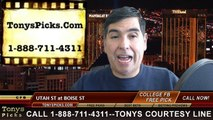Boise St Broncos vs. Utah St Aggies Free Pick Prediction NCAA College Football Odds Preview 11-29-2014