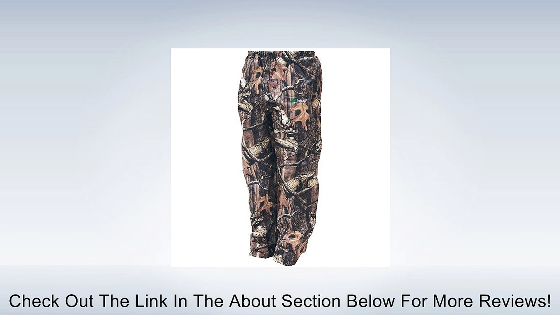 Frogg Toggs Pro Action Camo Rain Pants Mossy Oak Infinity XXXL 3XL Review