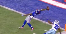 New York Giants Odell Beckham Jr. & The Greatest Catch Ever In NFL