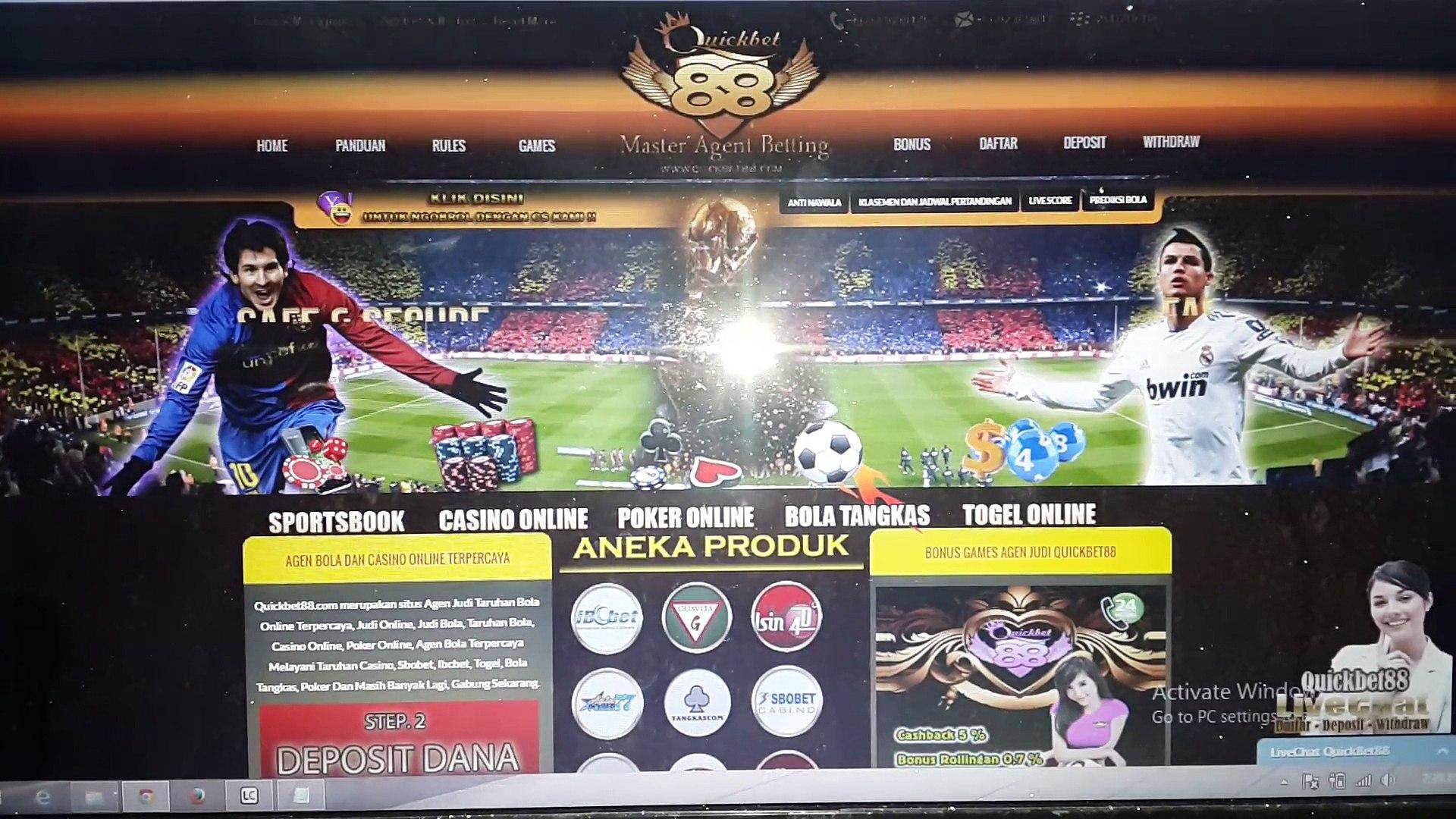 Quickbet88.com Agen Judi Bola Terpercaya, Casino Online